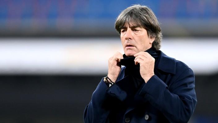 Nations League 2020: Bundestrainer Jogi Löw beim Spiel Deutschland gegen Ukraine