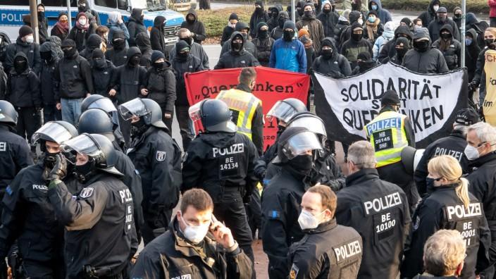 """Nach Verbot der Bremer ´Querdenker""""-Demo"""