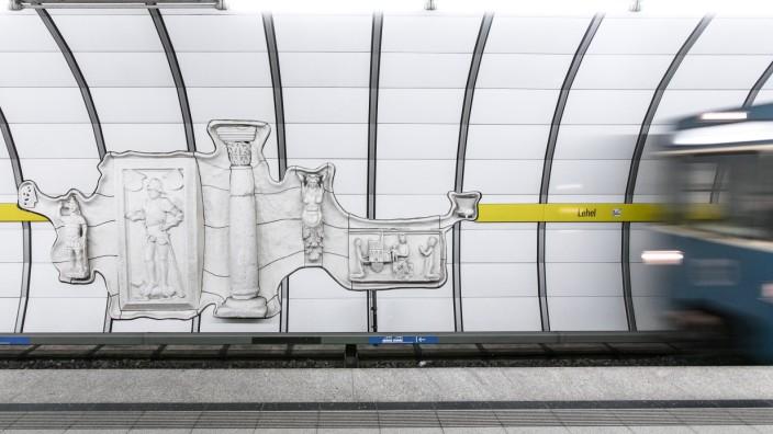 U-Bahn in München, 2016
