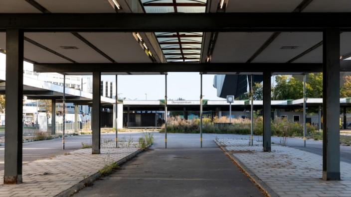 Alter Busbahnhof Olympiazentrum am 20.09.2018