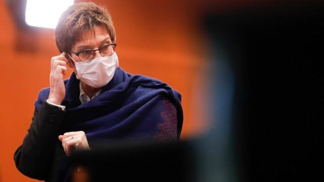 CDU-Parteichefin Annegret Kramp-Karrenbauer