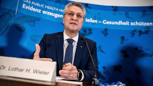 Senior German health official Wieler holds weekly briefing on pandemic in Berlin