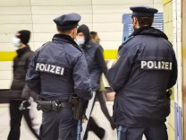 Polizei München U-Bahn