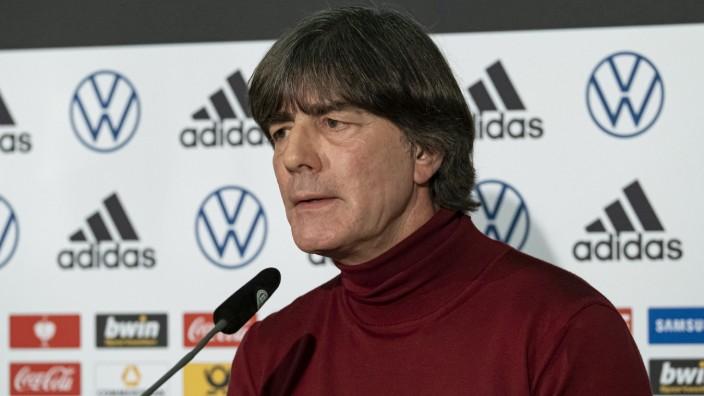 Digitales Pressegespräch mit Joachim Löw
