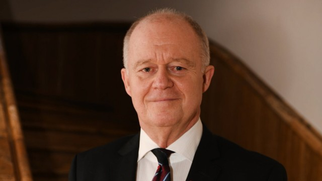 Prof. Thomas Kleist, der Intendant des Saarländischen Rundfunks (SR) in der ARD. Hier fotografiert am Mittwoch (15.1.201