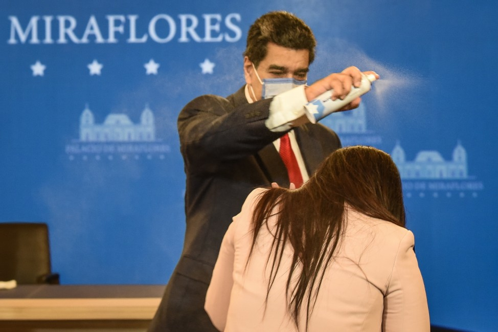 Nicol·s Maduro Press Conference After Controversial Parliamentary Elections