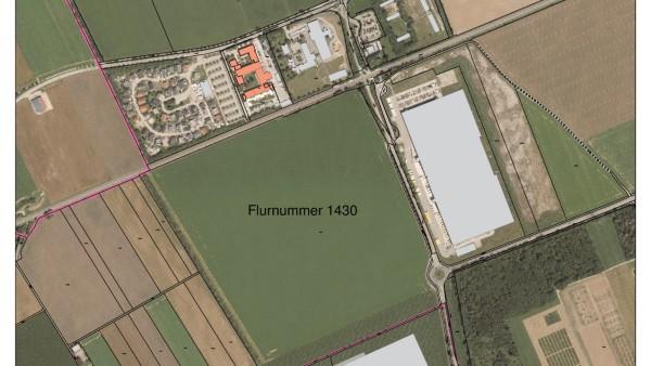 Lageplan WTAZ in Poing