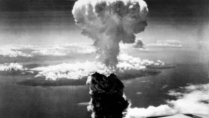 FILE PHOTO: U.S. Air Force handout photo of the Nagasaki atomic bomb