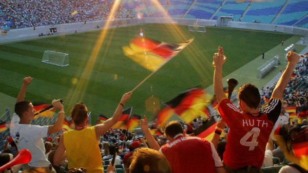 Jahresrückblick Sport - Public Viewing während der WM 2006