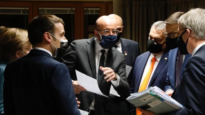 Klimawandel: EU-Staats- und Regierungschefs verhandeln neue EU-Klimaziele in Brüssel