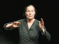 Edith Clever zum 80.: Hehre Sprachkünstlerin