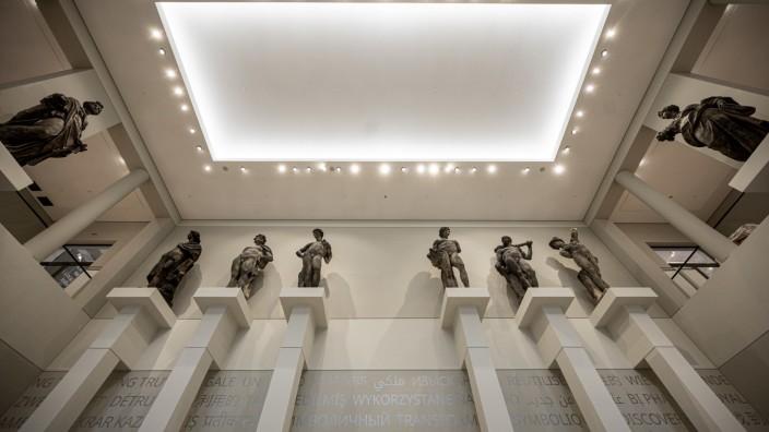 Berlin: Skulpturensaal im Erdgeschoss des Humboldt-Forums