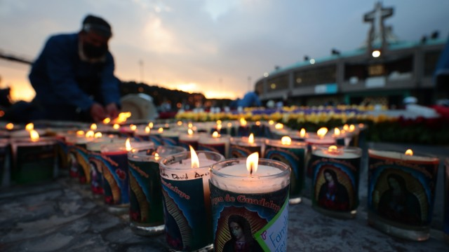 Day Of Our Lady Of Guadalupe Celebrations In Mexico Amid Coronavirus Pandemic