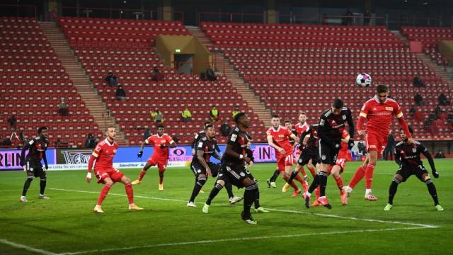 Fussball, Herren, Saison 2020/2021, 1. Bundesliga (11. Spieltag), 1. FC Union Berlin - FC Bayern München, Grischa Pröme