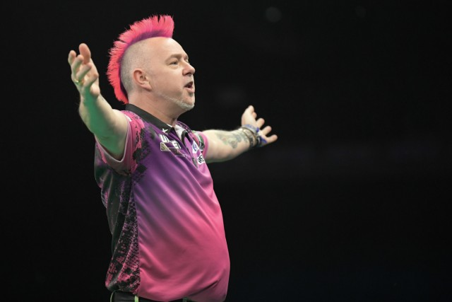 Darts-Weltmeister Peter Wright