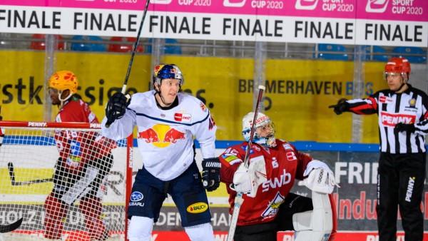 Fischtown Pinguins Bremerhaven gegen EHC Red Bull München- Magenta Sport Cup 2020; Eishockey