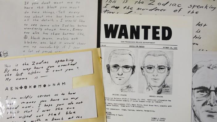 Ungelöste Verbrechen: Insgesamt vier verschlüsselte Botschaften verschickte der Zodiac-Killer. Zwei sind nun entschlüsselt, aber das Rätsel um die Identität des Mörders bleibt ungelöst.