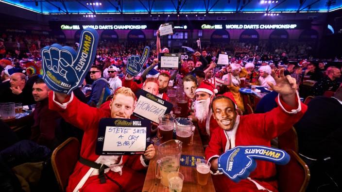 Darts-WM: Zuschauer im Ally Pally