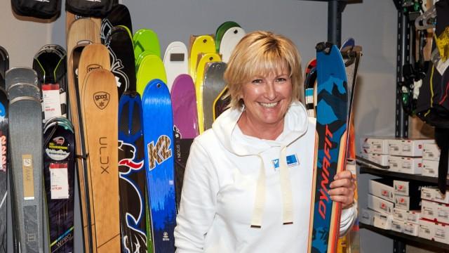 Yvonne König Sport Peter Bad Tölzer Tourenski
