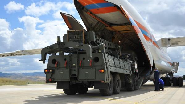 S-400 Raketenabwehrsystem der Türkei