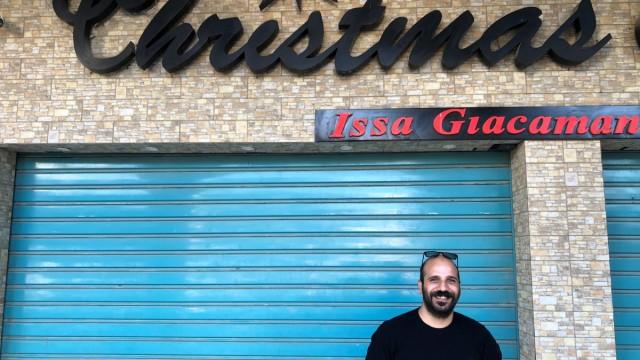 Der Fotograf Elias Halabi aus Betlehem