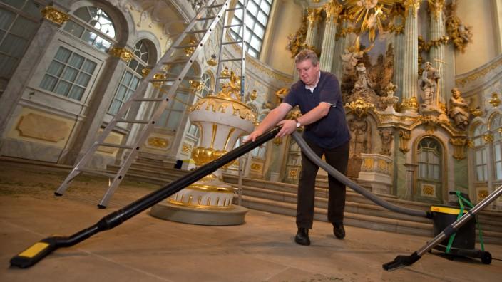 Frauenkirche schließt für Reinigungs- und Wartungsarbeiten