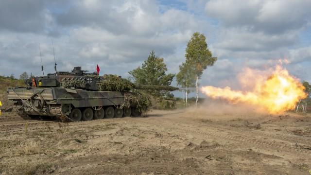 Munition für den Leopard ist bis Ende 2028 gesichert