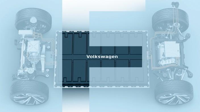 Volkswagen Elektro-Plattform MEB