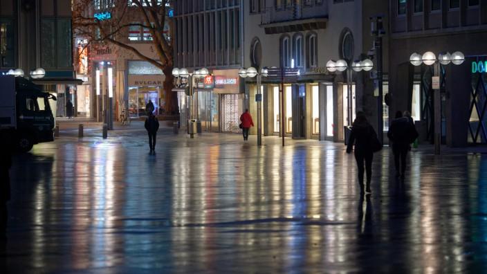 Coronavirus - Lockdown in Köln