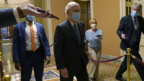 US-Senator Mitch McConnell 2020 in Washington