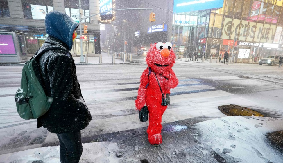 Major winter snow storm expected to hit northern east coast