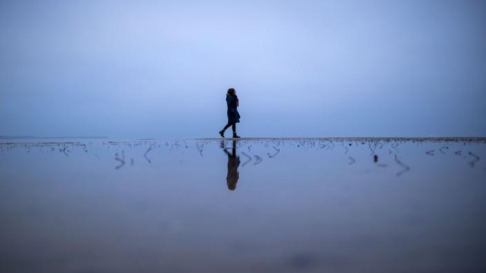 Graues Wetter an der Ostseeküste