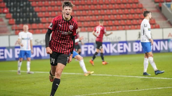 3. Liga - FC Ingolstadt 04 - F.C. Hansa Rostock - Tor Jubel 1:0 Merlin Röhl (34, FCI) 3. Liga - FC Ingolstadt 04 Saison