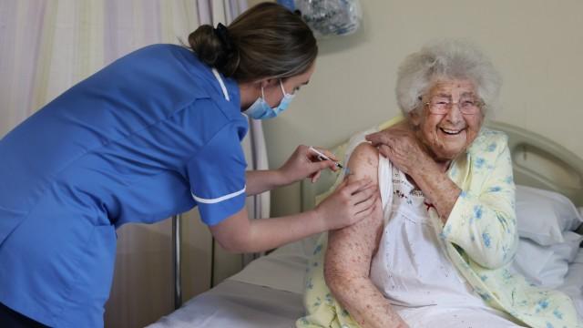 Coronavirus - Großbritannien beginnt mit Corona-Impfungen