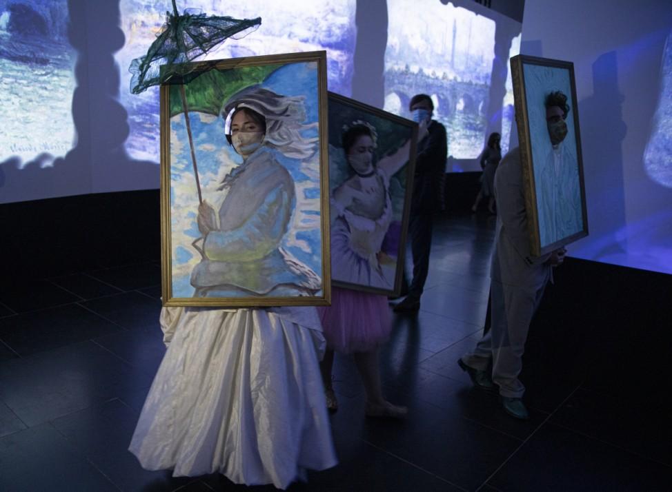 Impressionisten-Ausstellung in Spanien