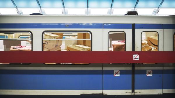 Modern underground tunnel PUBLICATIONxINxGERxSUIxAUTxHUNxONLY UWF000938