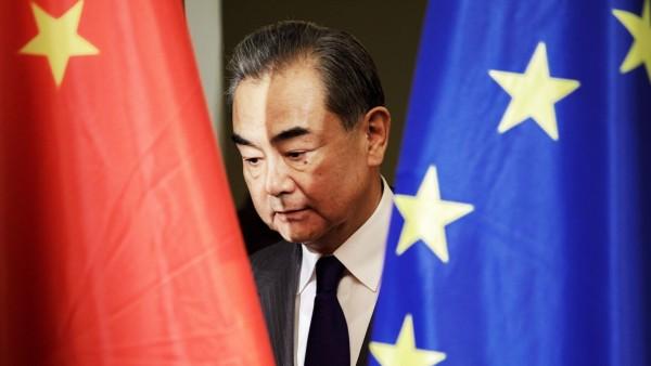 News Bilder des Tages Wang Yi, Aussenminister der Volksrepublik China, aufgenommen im Rahmen einer Pressekonferenz in de