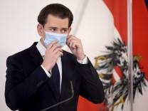 Corona in Österreich: Österreichs Regierung beschließt dritten Lockdown