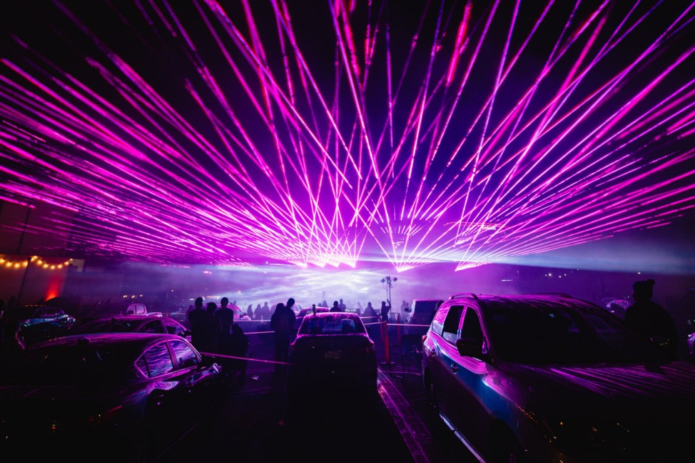 Gareth Emery's Drive-In Concert At City National Grove Of Anaheim
