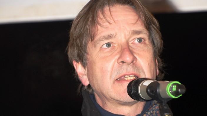Professor Bernhard Maaz, Direktor Staatsgemaeldesammlungen,, Muenchen 03.12.20 Wiese vor der Alten Pinakothek, Gabelsbe