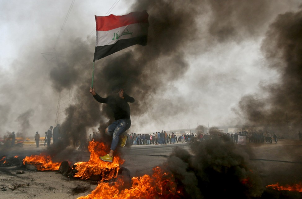 Anti-government protests in Basra