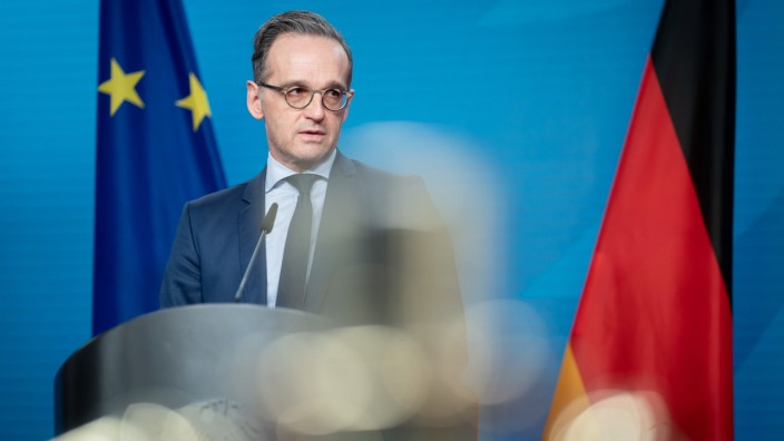 Pressekonferenz Heiko Maas