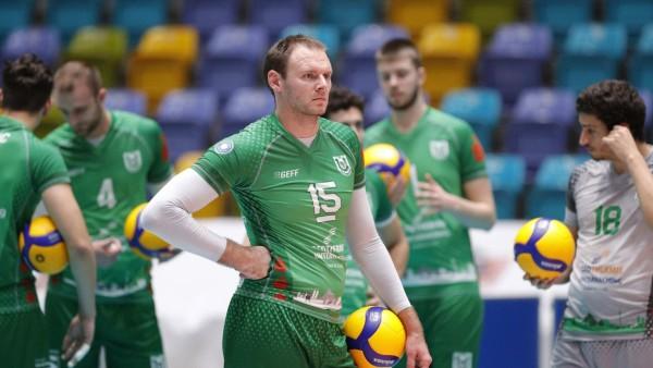 Deutschland - Frankfurt - 08.11.2020 / Volleyball - Hessen - 1. Bundesliga - Herren Saison 2020/2021 / United Volleys F; Volleyball - Bundesliga - TSV Unterhaching - Roy Friedrich