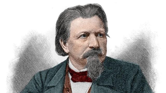 Karl Ferdinand Gutzkow 1811 1878 ecrivain dramaturge et journaliste allemand AUFNAHMEDATUM GES