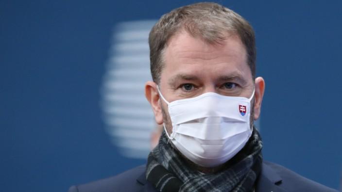 Corona: Will am liebsten alles alleine entscheiden: Der slowakische Ministerpräsident Igor Matovič.