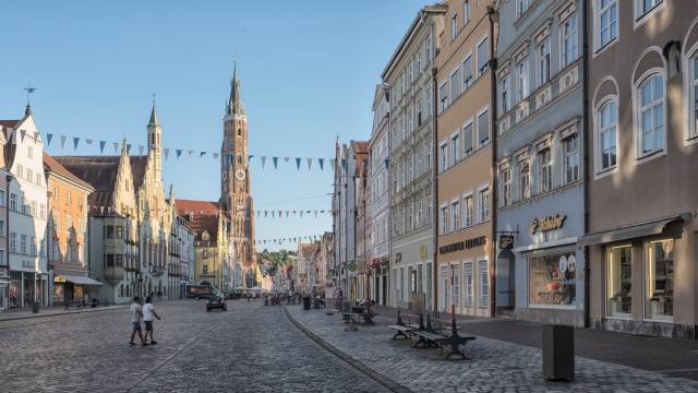 Stiftsbasilika Sankt Martin in Landshut, 2018