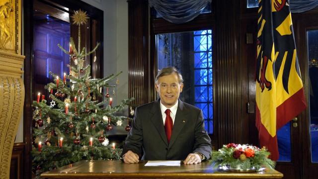 Weihnachtsansprache Bundespräsident Horst Köhler