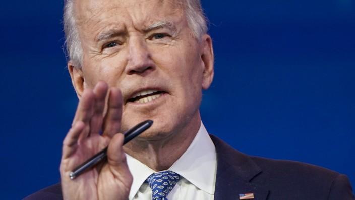 President-Elect Biden Delivers Remarks In Wilmington, Delaware Prior To Holiday Break