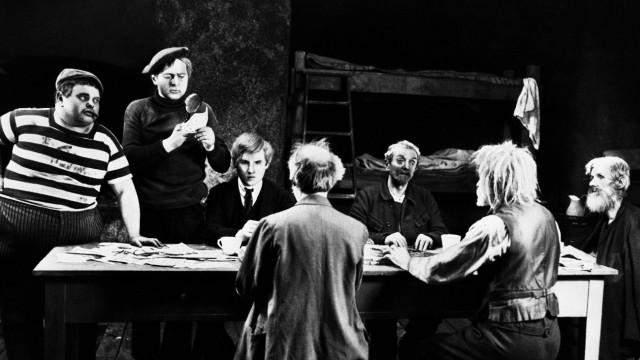Filmszene aus dem Stummfilm Dr Mabuse der Spieler Film Fernsehen Stummfilm Silent Movie 20e