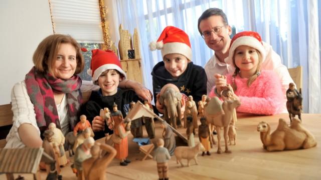 Starnberg:Familie Frey feiert Weihnachten